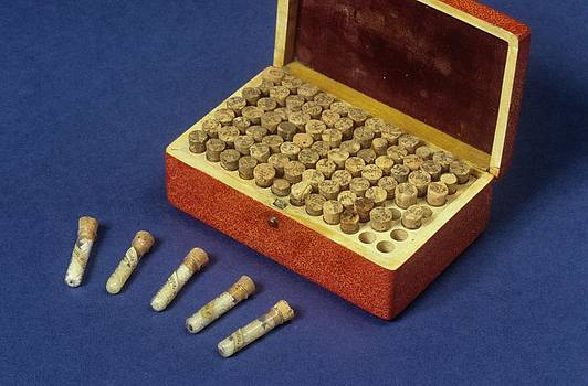 Homeopathic Medicine Phials by Science Photo Library