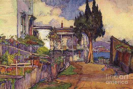 California Views Mr Pat Hathaway Archives - Homes and Gardens of Italian Fishermen by Rowena Meeks Abdy circa 1915