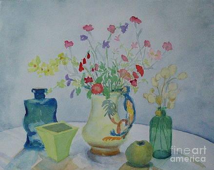 Honesty Seed Still Life by Bernice Grundy