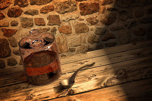 Honey Jar by Perry Harmon
