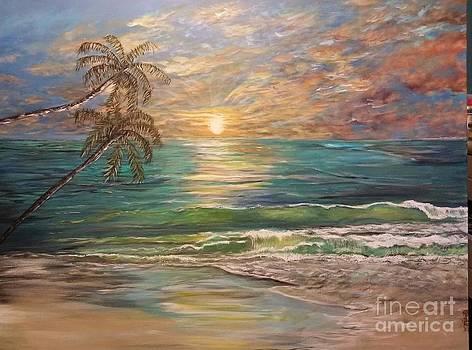 Honeymooner's Sunset by Katie Adkins