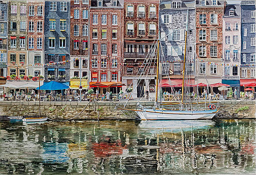 Honfleur by Gail Chandler
