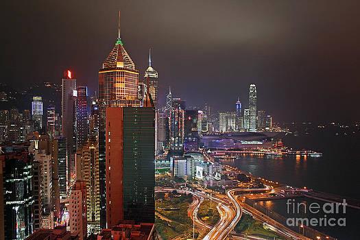 Hong Kong Island by Lars Ruecker