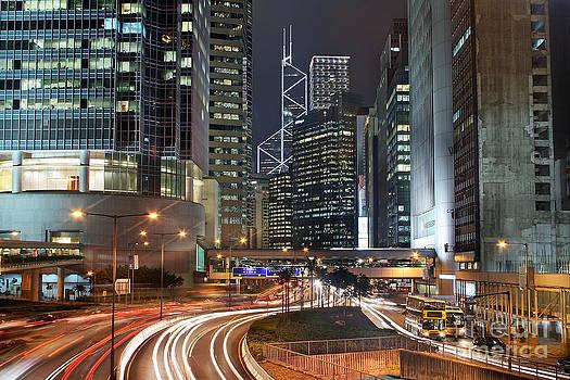 Hong Kong Rush Hour by Lars Ruecker