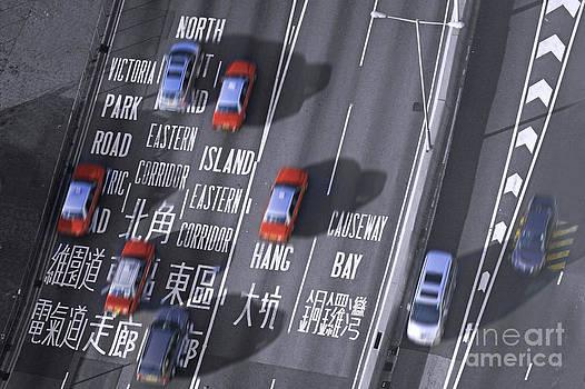 Hong Kong Taxi by Lars Ruecker