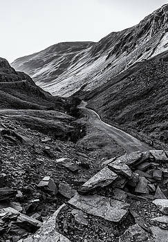 Honister Pass from the Slate Mine by Stuart Gennery