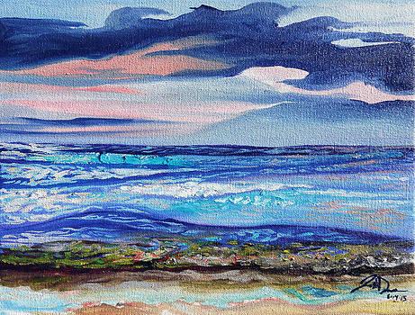 Honokowai Beach by Joseph Demaree