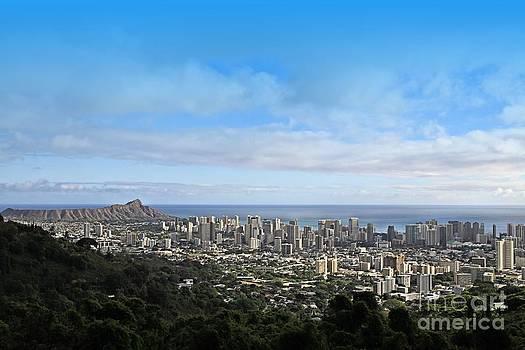 Honolulu Hawaii by DJ Florek