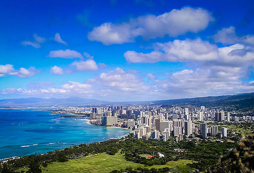 Honolulu Hawaii by Richard Brown