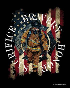 Honor Bravery Sacrifice by Jodi Monroe