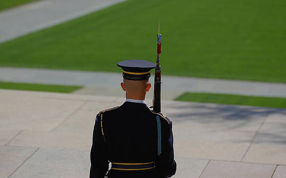 Honor guard by Eric Keesen