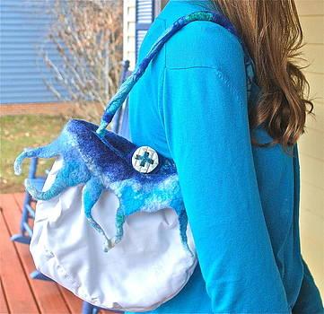 Hoodie Ice purse by Mirinda Reynolds