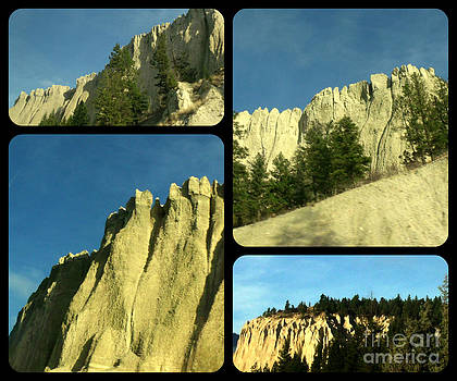Hoodoo Collage by Gail Matthews