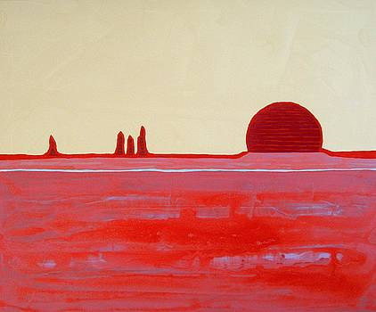 Hoodoo Sunrise original painting by Sol Luckman