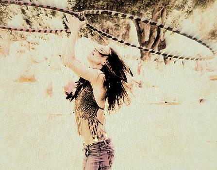 Hoop Dancer  by Kathy Bassett