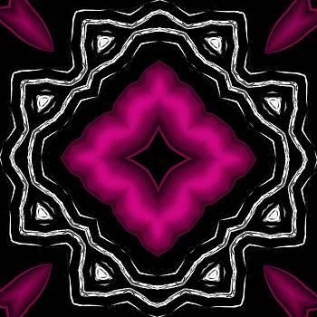 Marcela Bennett - Hop Pink Diamond Shape