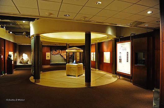 Jonathan E Whichard - Hope Diamond Exhibit Smithsonian Museum of Natural History Washington District of Columbia
