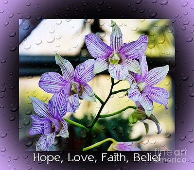 Hope Love Faith by Eva Thomas