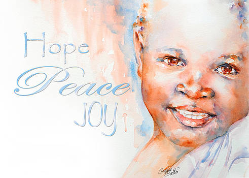 Hope Peace Joy by Stephie Butler