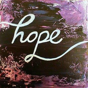 Hope by Una  Miller