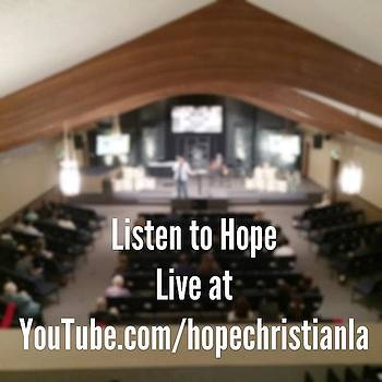 @hopechristianla Is Now Streaming Live by Mychal Clements