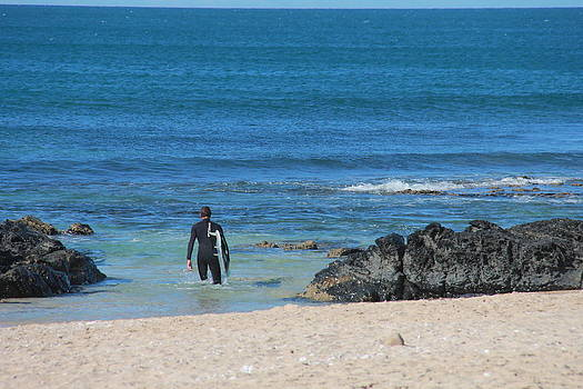 Hopeful Surfing by Kayleigh Semeniuk