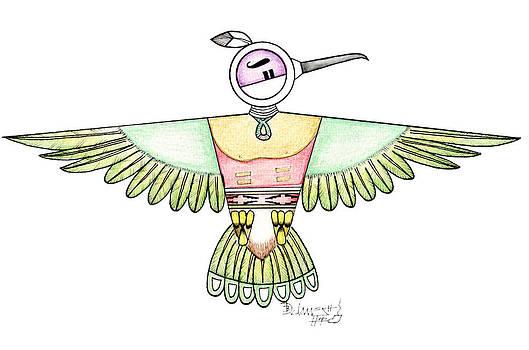 Hopi Hummingbird by Dalton James