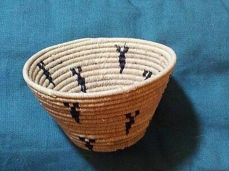 Hopi Maidens Burden Basket #1035 by Darlene Ryer