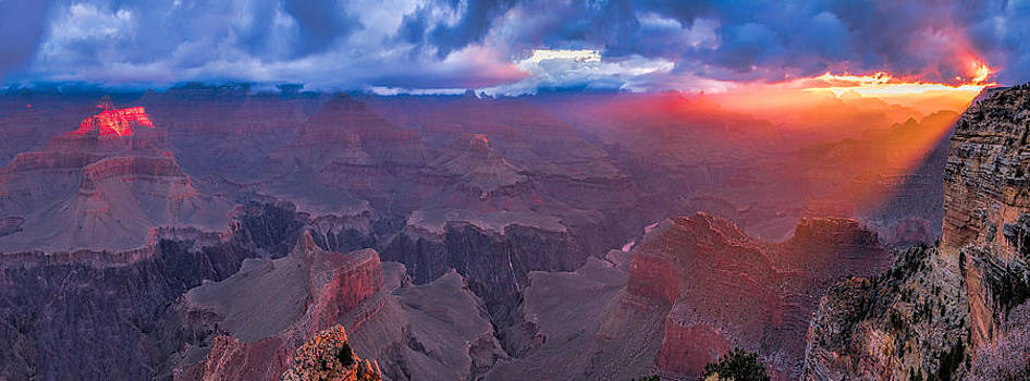 Hopi Point 108 x 40 Grand Canyon by Paul James