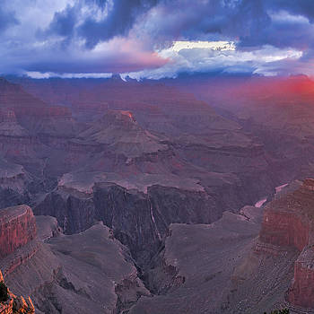 Hopi Point 40 x 40 2 of 3 -Grand Canyon by Paul James