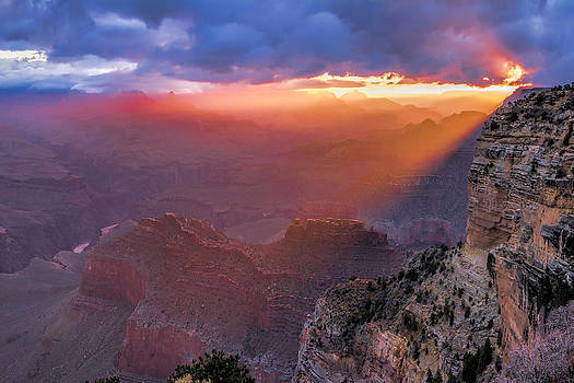 Hopi Point 40 x 60 Grand Canyon by Paul James