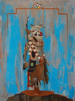 Hopi_ White Bear Katsina by Filmer Kewanyama