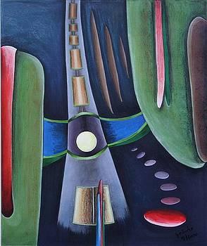 Horizontale by Gertrude Scheffler