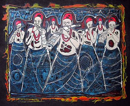 Horn Blowers by Okemakinde John abiodun
