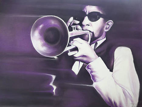 Horn player by Idorenyin Sam Awak