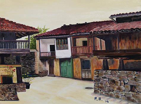 Horreos Y Casas by Pedro Riera