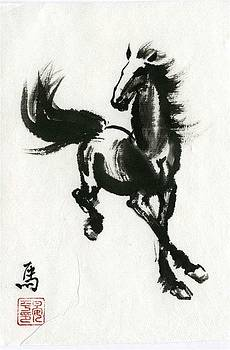 Horse #2 by Ping Yan
