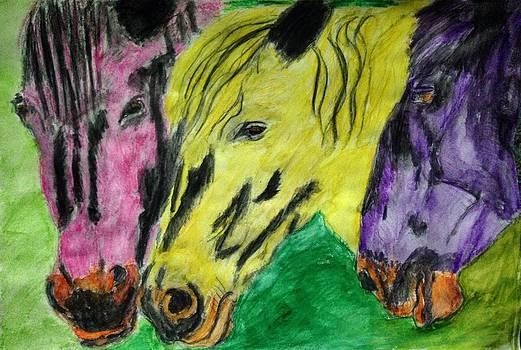 Horse  by Abiodun Bewaji