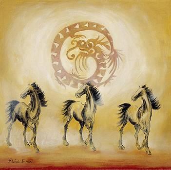 Horse and Dragon by Michal Shimoni