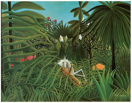Henri Rousseau - Horse Attacked by a Jaguar