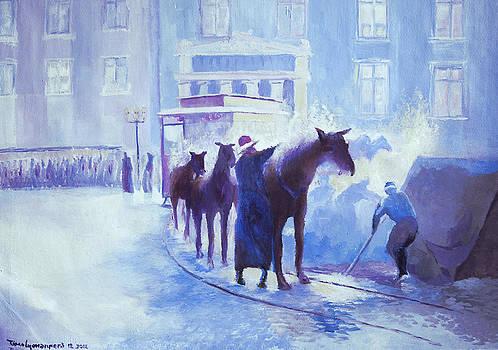 Horse Drawn Tram by Timo Luomanpera