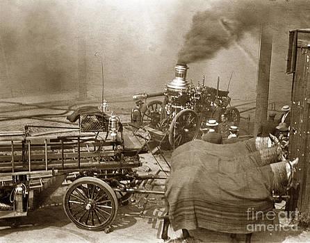 California Views Mr Pat Hathaway Archives - Horse Drawn Water Steam Pumper Fire truck circa 1906