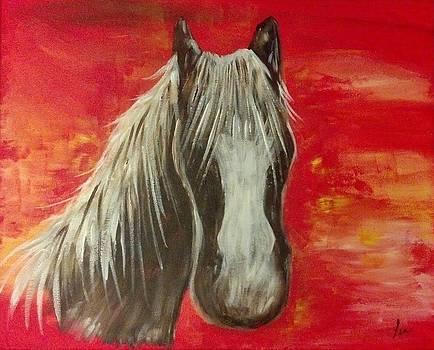 Horse In Fire by Babette Lea Hooten