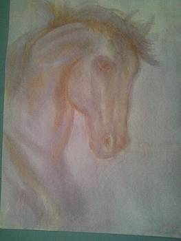 Horse in Wine by Patricia Olson