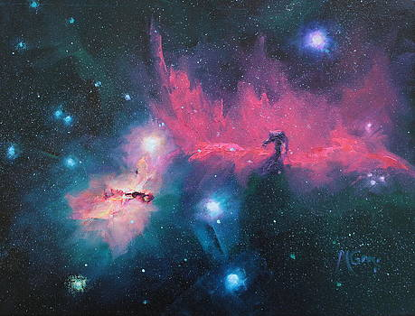 Marie Green - Horse Nebula Study
