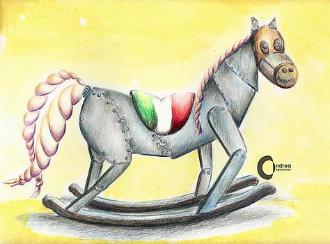 Horse toy by Andrea Leguizamon