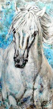 horse V by Rineke De Jong