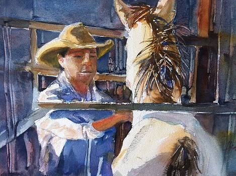 Horse Whisperer  by Shirley Roma Charlton