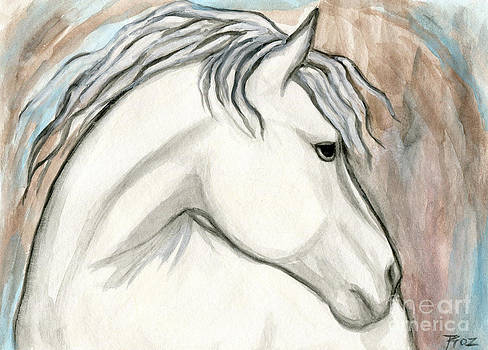 Horse With No Name by Roz Abellera Art