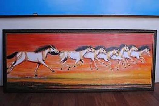 Horse7 by Ramesh Chandra